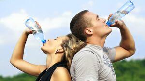 שתיית הרבה מים