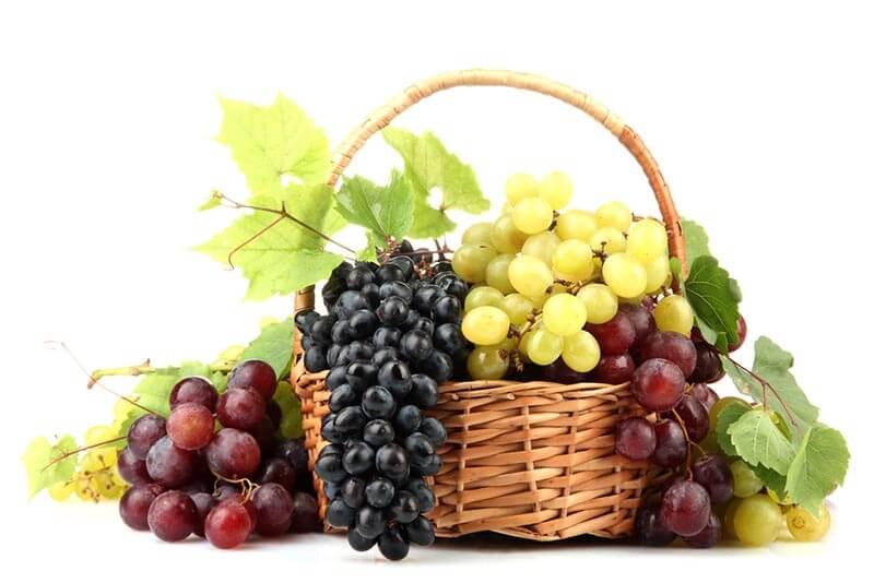 ענבים האם בריא, קלוריות ומידע