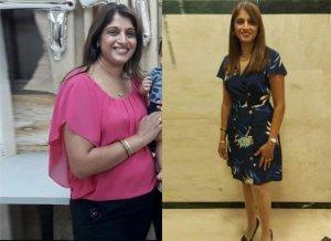 דיאטת דש תמונה לפני ואחרי
